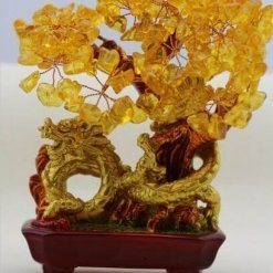 Natural Crystal Wealth Tree Feng Shui