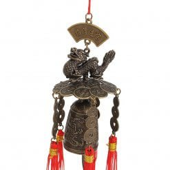 Wealth Luck Dragon Feng Shui Wind Chimes