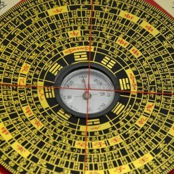 Feng Shui Bagua Compass (Wood Square Luo Pan)